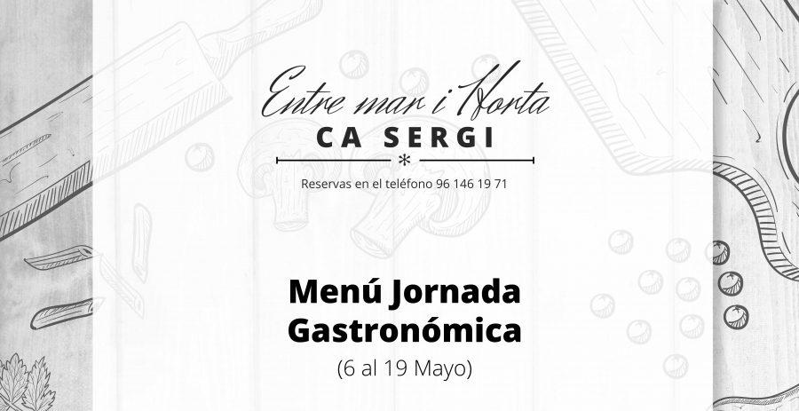 Menú Jornada Gastronómica